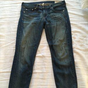 Rag & bone DRE relaxed slim fit boyfriend jeans